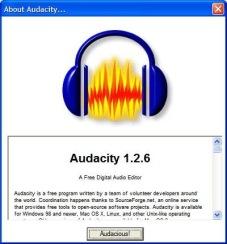 Slika 01 - Audacity 1.2.6