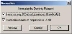 Slika 15 - Audacity-Normalizacija1