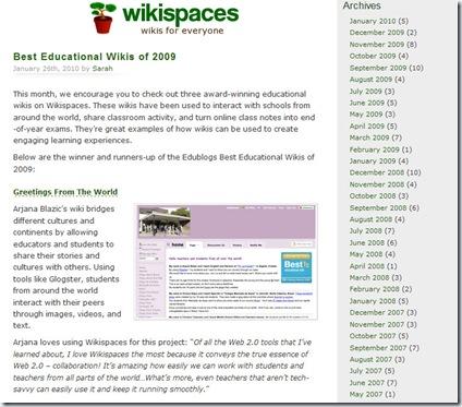 wikispacesblog