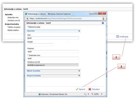 slika2 - Promjena podataka o korisniku
