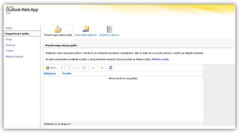 Slika5- organiziraj e-poštu