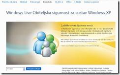 windows live obiteljska sigurnost