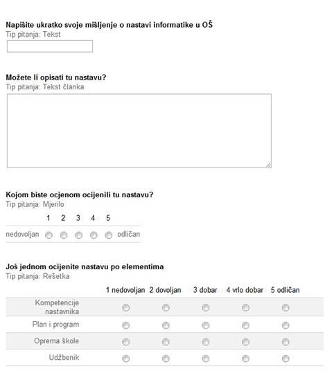 anketna pitanja