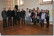 Sudionici tribine Dan sigurnog interneta u Gimnaziji Vukovar,2