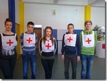 2014.ekipa Gimnazije na natjecanju mladezi HCK-2.mjesto