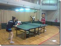 Gimnazijalke na državnom natjecanju u stolnom tenisu