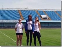 Gimnazijalke na utrci 12.redarstvenika u Vinkovcima