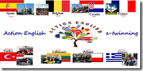 ACTION ENGLISH POSTER made by our Greek partners