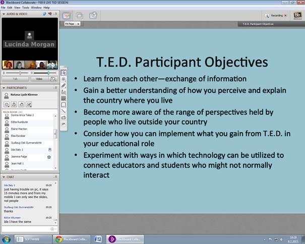 Ted razgovora s web lokacijama za upoznavanje