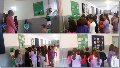 Slika 3 - Vođene ture po školskim hodnicima