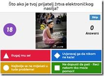 Kviz Sigurnost djece na internetu