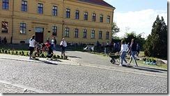 ozelenjavanje prostora ispred skole