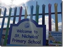 Ograda u St. Nicholas školi