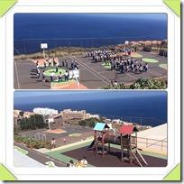 Učenci med šolskim odmorom v Španiji