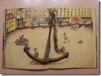 Slika 1. Ilustracija Damijana Stepančiča u knjizi ''Zgodba o sidru''