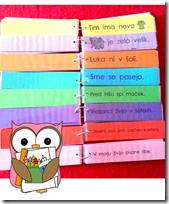 Slika 16. Šareni blokovi za čitanje