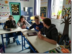 Slika 4. Učenici igraju Kahoot