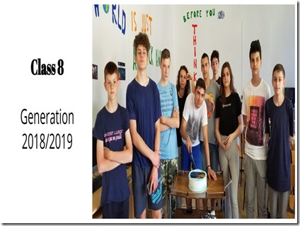Foto 9 -Osmi razred u opuštenom izdanju