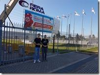 Maker Faire Roma - na ulazu Marko i Matija