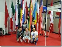 Slika 3 -zemlje sudionice Inove i tim vukovarske gimnazije