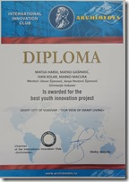 Slika 6 - inova - best youth innovation project - diploma