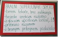 Oblikovani kriteriji dobrog čitatelja - plakat u učionici