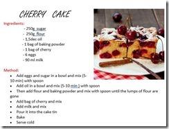 Slika 3 - Cherry cake