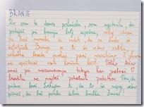Učiteljeva pisana povratna informacija